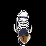 Кеды  All Star Chuck Taylor синие высокие, фото 3