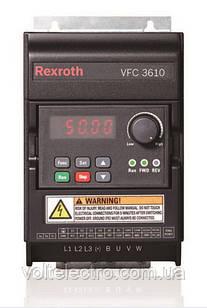 Перетворювач частоти Bosch Rexroth VFC 3610 0.40 kW, 1AC 200-240V, 50/60Hz, 2.4 A