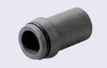 Ніпель приварний під накидну гайку M08L (14х1,5) с толщиной стенки 2мм