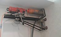 Отверстие под кухонную вытяжку без пыли и грязи. т. 095-936-42-42