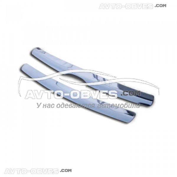 Накладки на решетку радиатора для Hyundai Santa Fe (2006 - 2010) из 2 элем.
