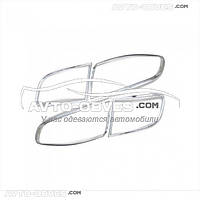Накладки на задние фонари (стопы) Hyundai Santa Fe