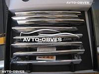 Накладки на переднюю решетку для Opel Vivaro 2007-2014