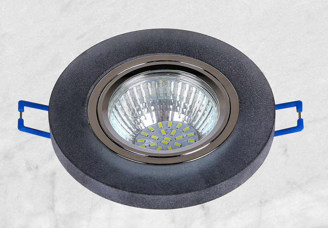 Точечный стеклянный врезной светильник (16-MKD018)