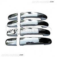 Накладки на ручки открывания дверей Mitsubishi Outlander XL 2010-2012