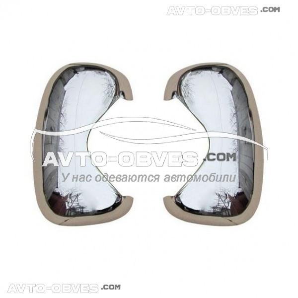 Накладки на зеркала заднего вида Opel Vivaro ABS+хром