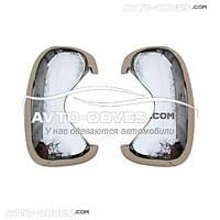 Накладки на зеркала заднего вида для Opel Vivaro ABS+хром