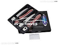 Накладки на ручки открывания дверей Nissan XTrail 2014-... (под чип)