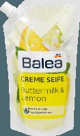 Жидкое крем-мыло для рук Balea Cremeseife Buttermilk & Limon -Пахта и лимонник( запаска)
