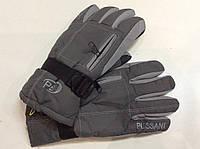 Перчатки горнолыжные мужские PUISSANT р.L серые