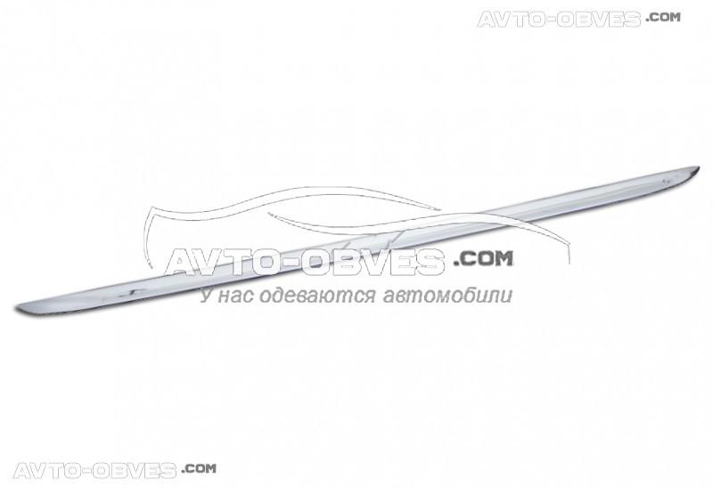 Накладка на нижнюю кромку багажника Chevrolet Aveo нержавейка
