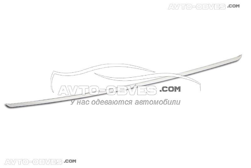 Кромка заднего стекла Fiat Doblo нержавейка