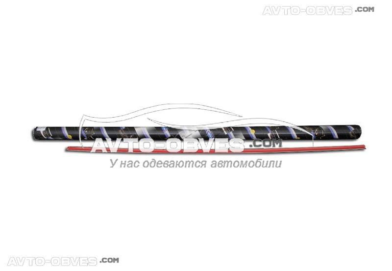 Накладка на нижнюю кромку багажника Mitsubishi ASX (2013-2016)
