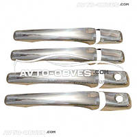Накладки на ручки відкривання дверей для Мітсубіші АСХ 2010-2013 // вибір виробника