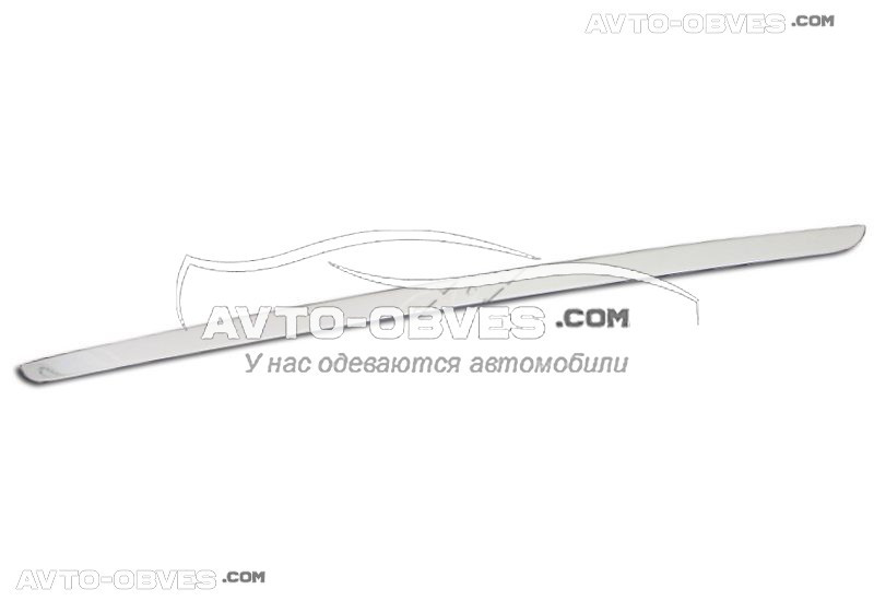 Кромка багажника для Skoda Octavia A7 2012-2017