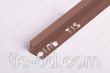 Угол ПВХ внутренний для плитки 9мм