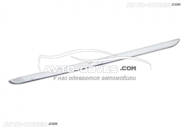 Кромка багажника Peugeot 301 2012-... нержавейка