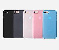 Чехол для iPhone 7 - Momax Membrane Case 0.3 mm, разные цвета