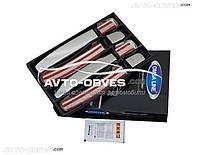 Накладки на ручки открывания дверей для Nissan Navara