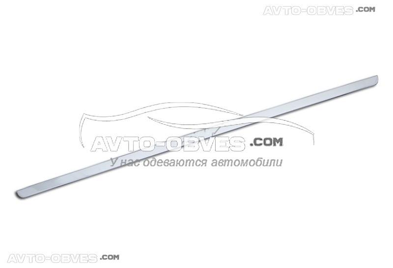 Кромка багажника Peugeot Partner Tepee нержавейка
