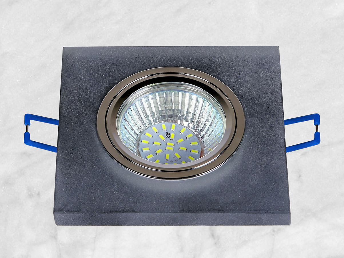 Точечный стеклянный врезной светильник (16-MKD038)