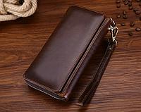 Мужской кошелек-портмоне Joyir из мягкой натуральной  кожи