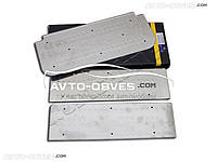 Накладки на боковые пороги для Renault Trafic 3 элементов