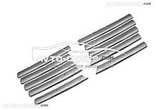 Накладки на радіаторну решітку Мерседес Віто 638 з 10 елементів, нержавіюча сталь // вибір виробника