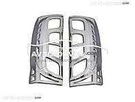 Накладки на задние фонари (стопы) для Peugeot Bipper 2 шт