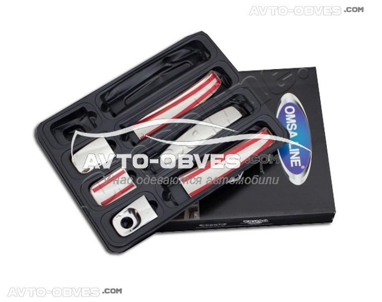 Накладки на ручки открывания дверей Renault Trafic 3 шт