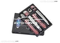 Накладки на ручки открывания дверей Hyundai Accent 2006-2011 - под два ключа