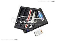 Накладки на ручки открывания дверей Opel Astra J SD/SW/HB (2010-2016) 2 шт