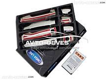 Накладки на дверные ручки для Toyota Auris с отверстием под ключ