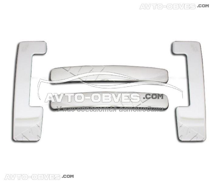 Накладки на дверные ручки Dokker 2013-... Carmos