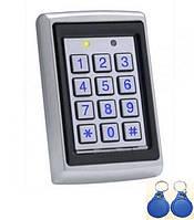 Кодовая клавиатура TRK-568L cо встроенным считывателем, фото 1