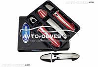 Накладки на ручки дверей для Hyundai ix35 (нержавейка)