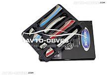 Накладки на ручки открывания дверей VolksWagen Passat B6 2006-2011 4-х дверный
