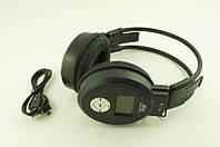 Наушники беспроводные Sport радио MP3 168-188, накладные наушники