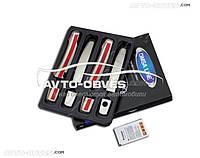 Накладки на ручки дверей Opel Antara (комплект - 4 элем.)