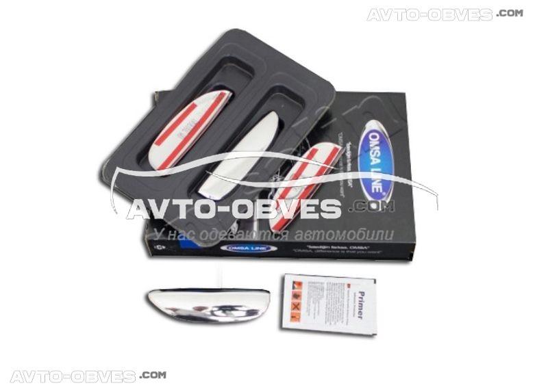 Накладки на ручки открывания дверей Dacia Logan MCV