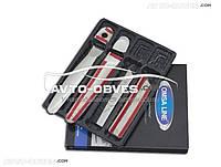Накладки на ручки открывания дверей Nissan Juke под ключ