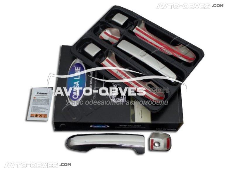 Накладки на дверные ручки Toyota Prado 150 2009-2013