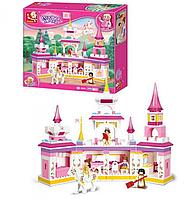 Конструктор SLUBAN «Розовая мечта» | «Волшебный замок принцессы»