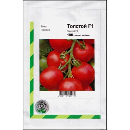 Семена томата Толстой F1, 100 семян (Bejo/ Агропак) — ранний (70-72 дня), красный, индетерминантный., фото 2