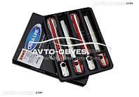Накладки на дверные ручки VW LT 4шт под ключ