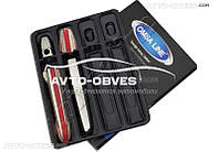 Накладки на дверные ручки VW LT 2 шт. под ключ