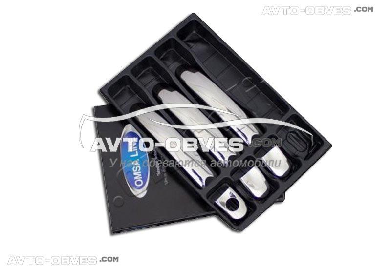 Накладки на ручки открывания дверей VolksWagen T5 (3 шт) Carmos