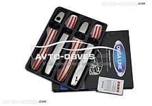 Накладки на ручки открывания дверей для Toyota Auris 2007-2012