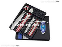Накладки на ручки открывания дверей Nissan Juke под чип