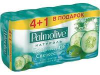 Мыло Palmolive Натурэль Бодрящая свежесть огурец 5x70